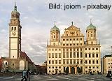 Historische Wertpapiere, alte antike Aktien,  Schmuckaktien aus Augsburg