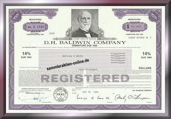 Baldwin D.H. Company