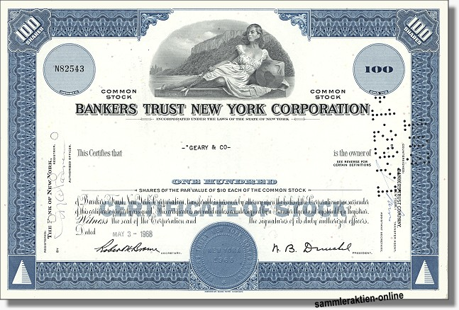 Bankers Trust New York Corporation