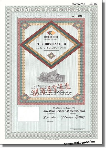 Berentzen-Gruppe Aktiengesellschaft
