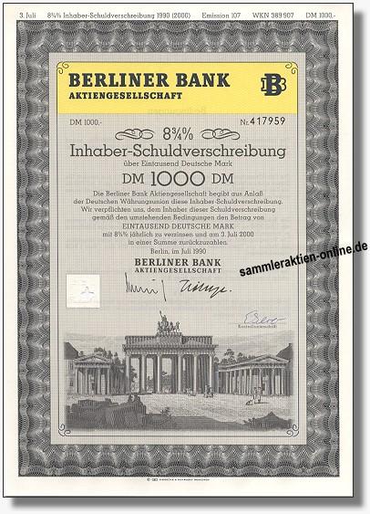 Berliner Bank AG