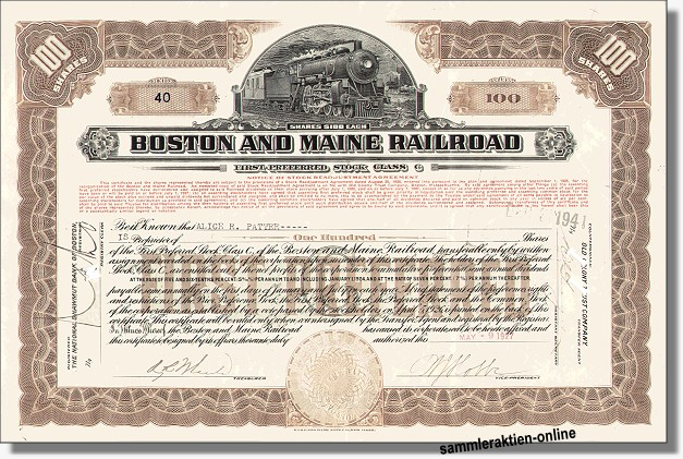 Boston and Maine Railroad