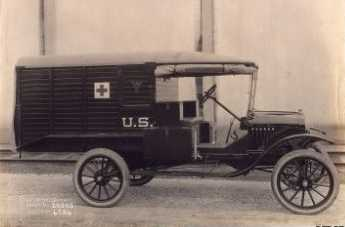 Brill-built ambulance