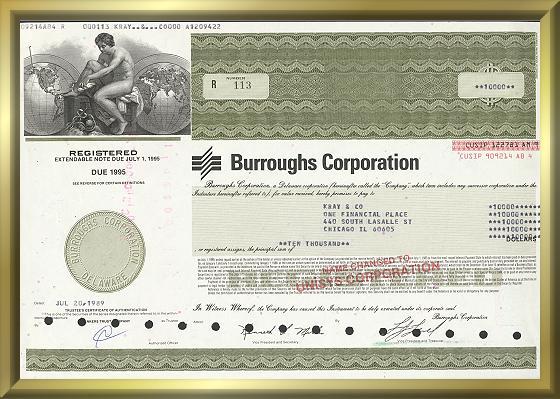 Burroughs Corporation