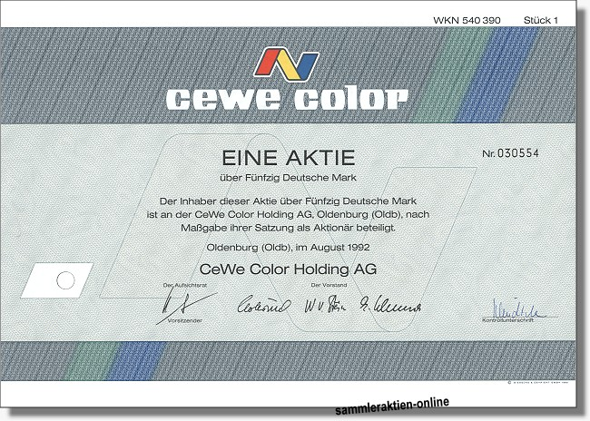 CeWe Color Holding