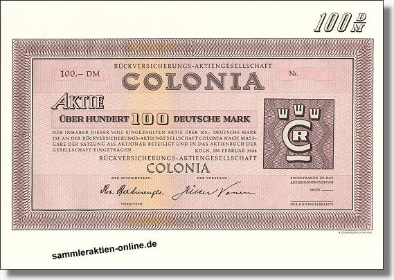 Colonia Rückversicherungs- AG