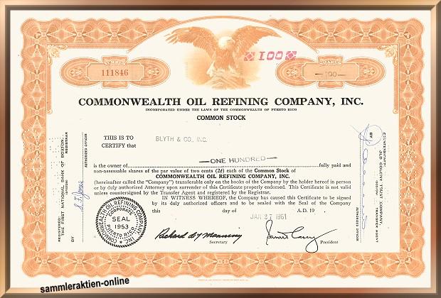 Commonwealth Oil Refining Company