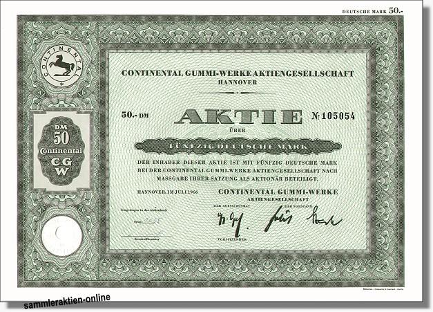 Aktien Continental