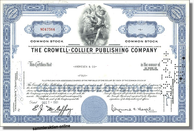 Crowell Collier Publishing Company - Holtzbrinck
