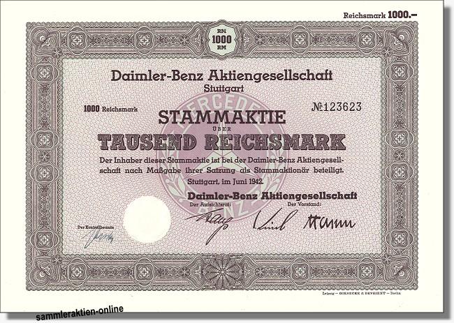 Daimler Akti