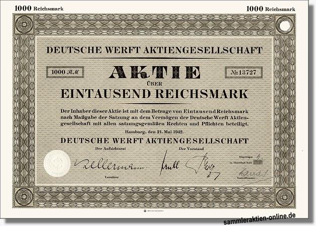 Deutsche Werft AG - Howaldtswerke
