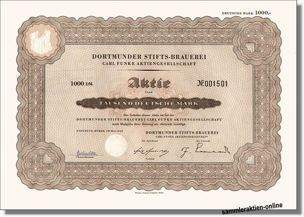 Dortmunder Stiftsbrauerei Carl Funke AG