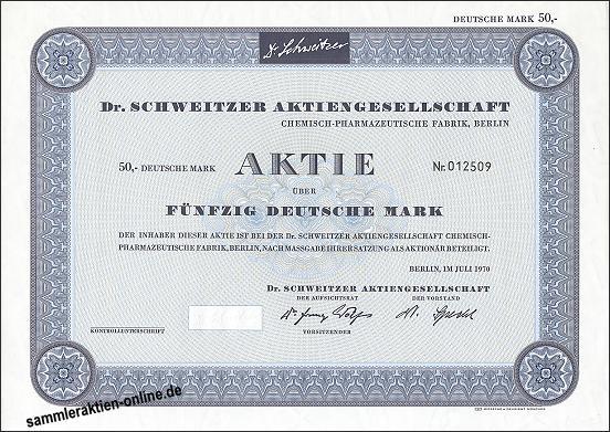 Dr. Schweitzer AG