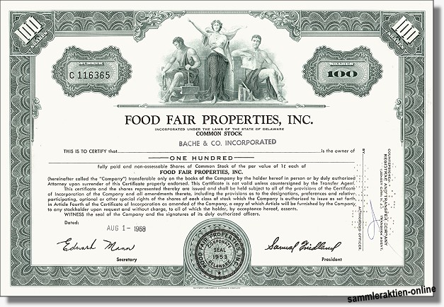 Food Fair Properties Inc.