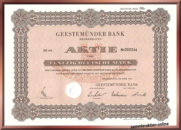 Geestemünder Bank