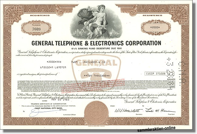 General Telephone & Electronics Corporation - Verizon
