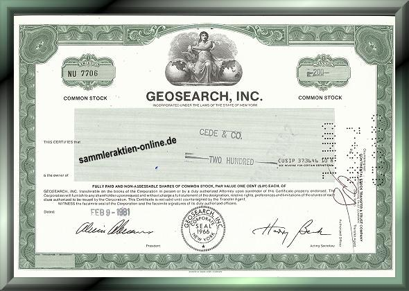 Geosearch Inc.