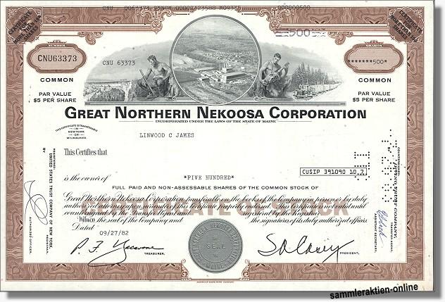 Great Northern Nekoosa Corporation