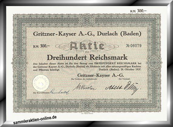 Gritzner-Kayser AG
