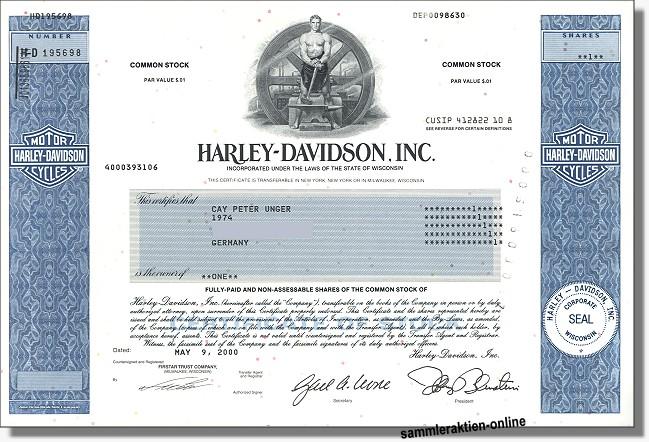 Harley Davidson Inc.