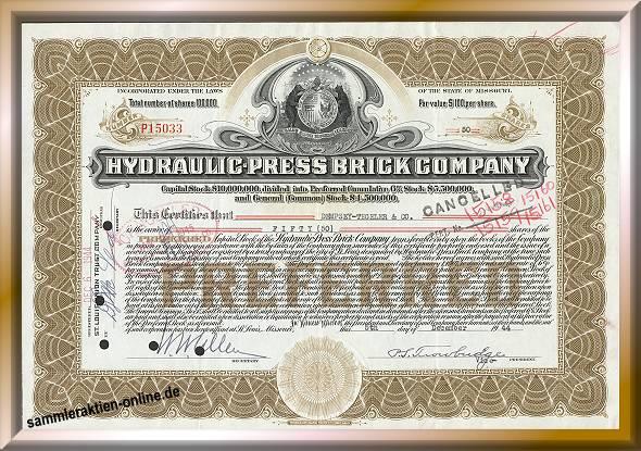 Hydraulic Press Brick Company