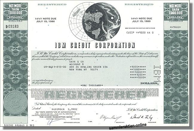 IBM Credit Corporation