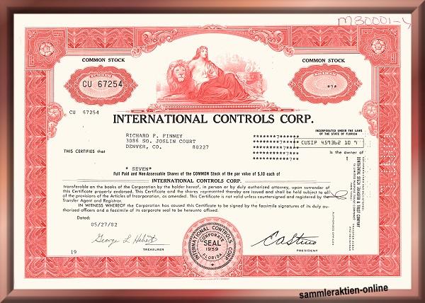 International Controls Corp.