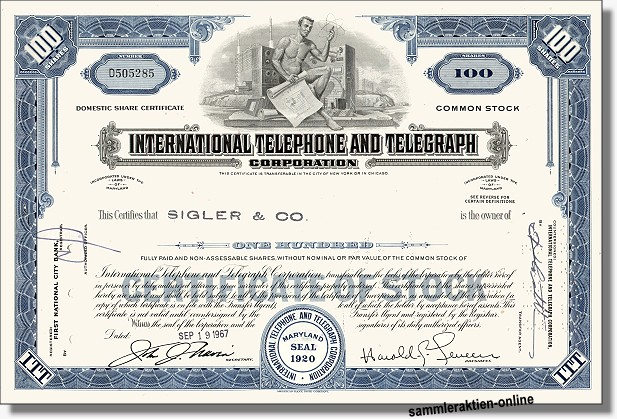 ITT - International Telephone & Telegraph