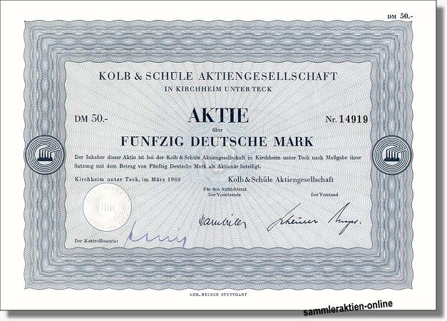 Kolb & Schüle AG