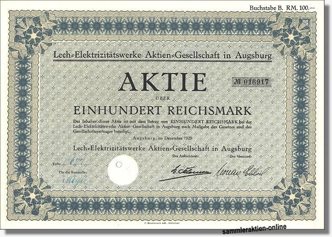 Lech-Elektrizitätswerke AG
