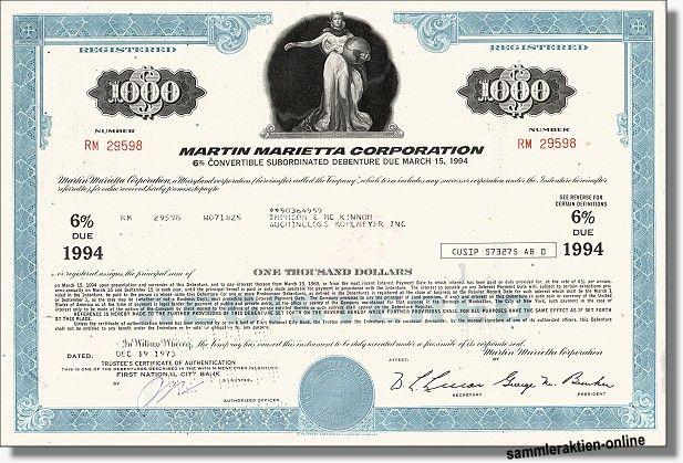 Martin Marietta Corporation