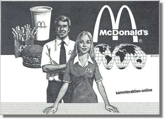 Mc Donald's Corporation - Mc Donalds