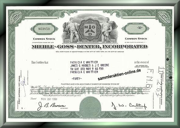Miehle-Goss-Dexter Inc.