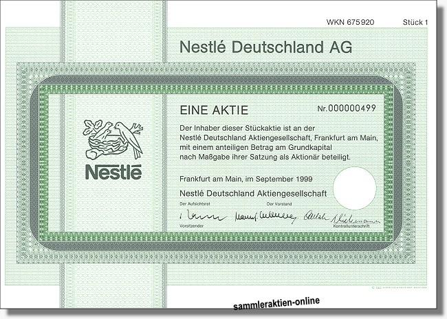 Nestle Deutschland AG