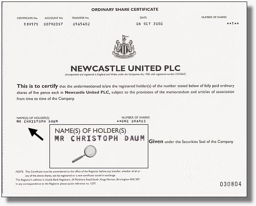 Newcastle United PLC