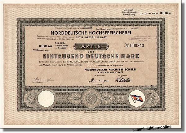 Norddeutsche Hochseefischerei
