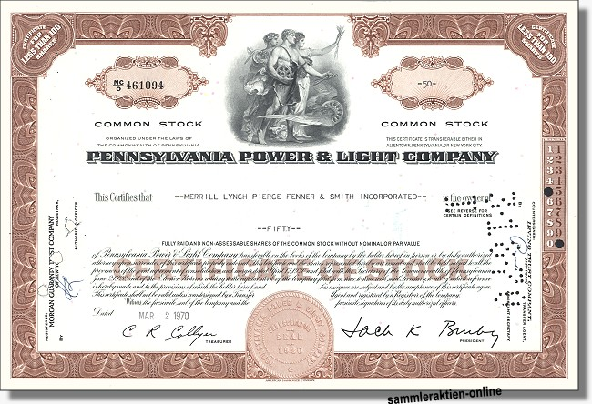 Pennsylvania Power & Light Company