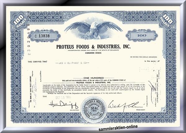 Proteus Foods & Industries