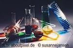 Alte Aktien, historische Wertpapiere, effektive gedruckte Schmuckaktien aus dem Bereich Chemie, Pharma, Kunststoffe