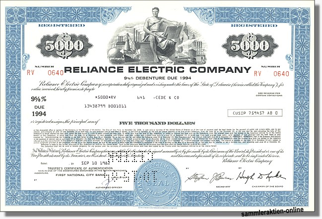 Reliance Electric Company