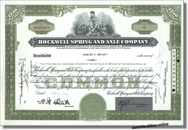 Rockwell Spring an Axle Company
