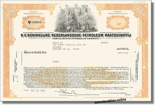 Royal Dutch Aktien