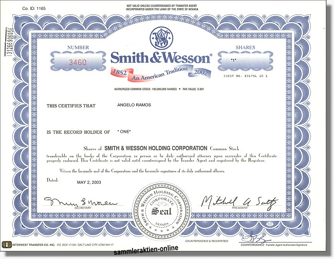 Smith & Wesson Corporation