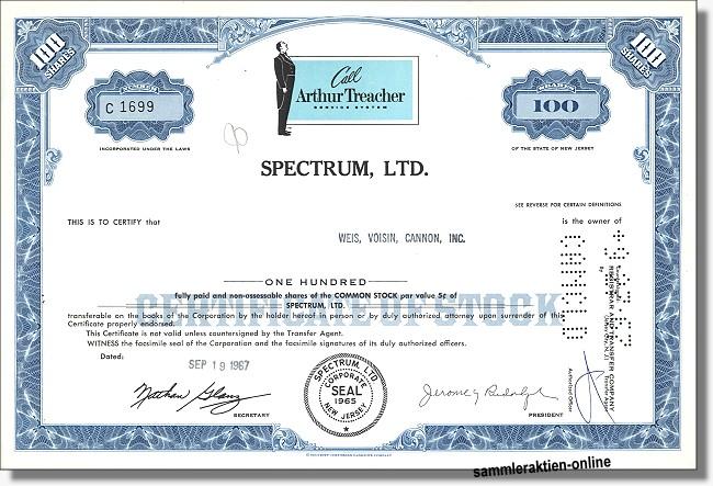 Spectrum Ltd. - Arthur Treacher