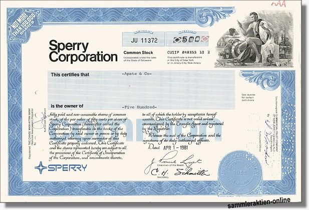 Sperry Corporation