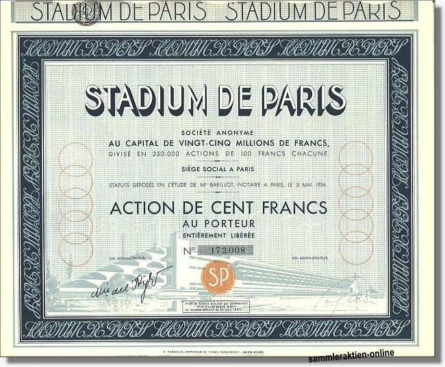 Stadium de Paris - Olympiastadion