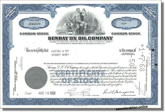 Sunray DX Oil Company