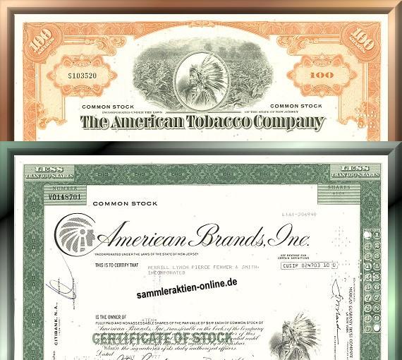 Branchenset Tabak 2-3<br>AmTobacco & AmBrands