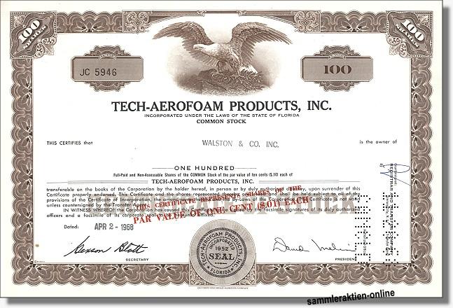 Tech-Aerofoam Products Inc.