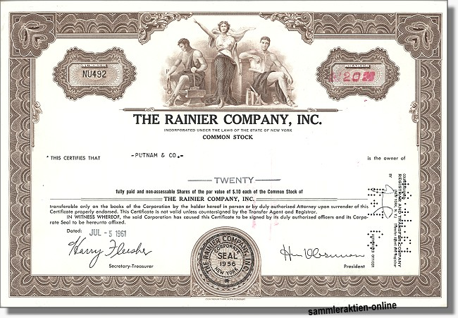 Rainier Company Inc.